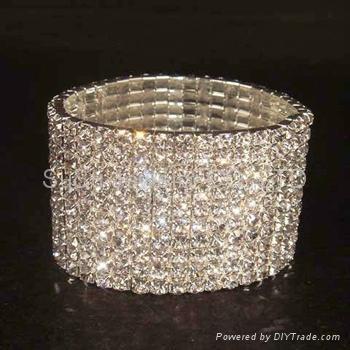 Shamballa Bracelets Wholesale Pink Crystal Ball Shamball Braclet 4