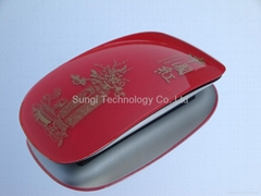 Arc touch folding wireless mouse magic mouse 2.4Ghz