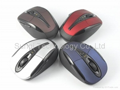 6D 2.4Ghz usb wireless optical mouse