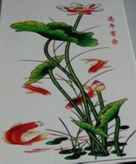 在瓷板上打印图画的万能彩印设备