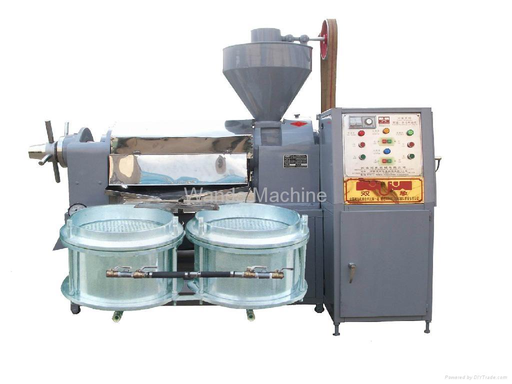 Oil press 6yl 80a wanda china food beverage for Food bar press machine