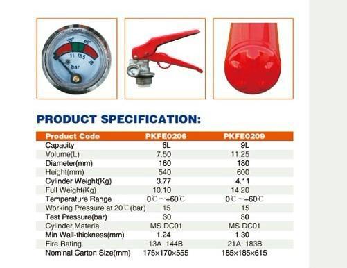 Foam Fire Extinguisher 2