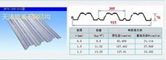 楼承板规格YX76-305-915