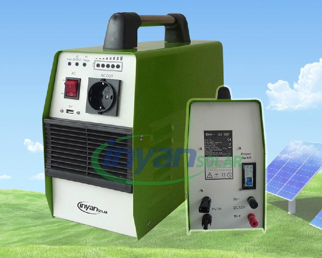 Portable Solar Power System 500w Lithium Battery