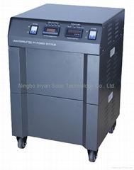 Uninterrupted solar power-UPS 3000W off-grid system