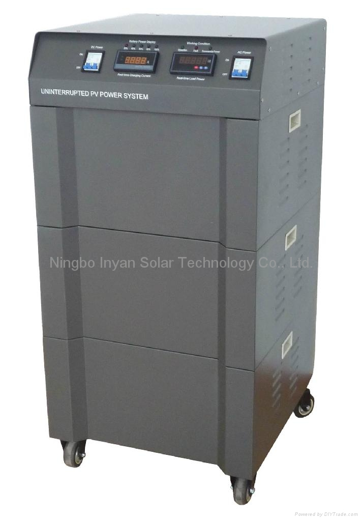 Uninterrupted PV power system 5000W home system  1