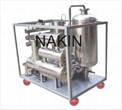Series TYK Phosphate ester fire-resistant oil purifier