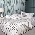 bedding set of 4 pcs combed cotton