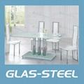 2012 modern glass dinging tabe  1