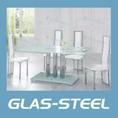 2012 modern glass dinging tabe
