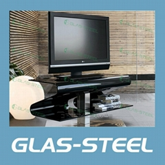 2012 New MDF Rotating Led TV Stand