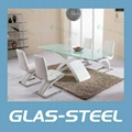 Two Side Extention  MDF Lets Glass