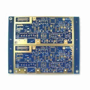 Multilayer ENIG pcb,eight layers,immersion gold surface treatment 1