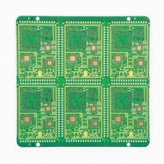 Six-layer Mobile Phone Board with Immersion Ni/Au Surface Treatment