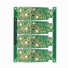 Multilayer PCB with four layers,immersion gold surface treatment
