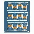 Six layer Rigid-flex PCB with immersion