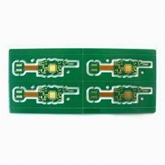 Four layer Rigid-flex Board with immersion gold surface treatment