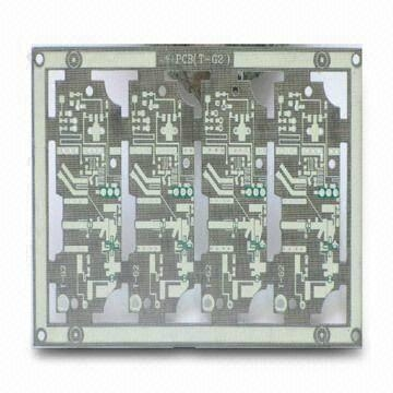 Four layer High Frequency PCB with HAL surface treatment 1