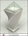 Modern wood-glass jewelry display showcase 5