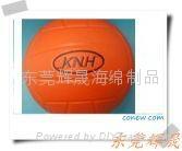 高回弹仿真玩具PU篮球 1