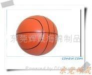 高回弹仿真玩具PU篮球 2