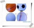 高回弹仿真玩具PU篮球 3