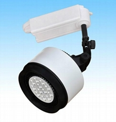 High Power Euro Style LED Tracklight