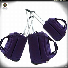 Best quality Water-proof nylon trolley bag with good aluminum trolley