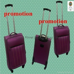 2012 2pcs/set customer satifatory promotion polyester luggage suitcase