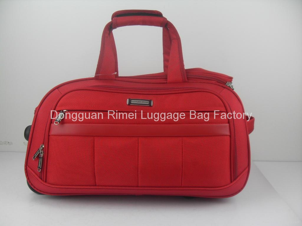 2012 hot sale High grade colourful leisure 1680D travel bag - 5615 ...