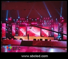 P6 SMD indoor full color led stage screen