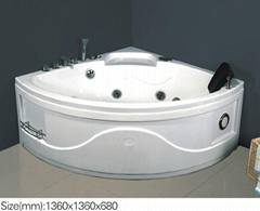 acrylic massage bathtub