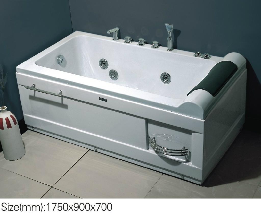Fantastic Hydromassage Tub Vignette - Bathroom and Shower Ideas ...