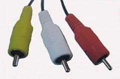 AV cable RCA