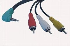 AV Cable Stereo+RCA