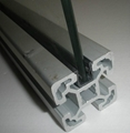 panel strip for aluminium profile