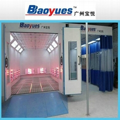 Infrared lamp spray booth (combination)