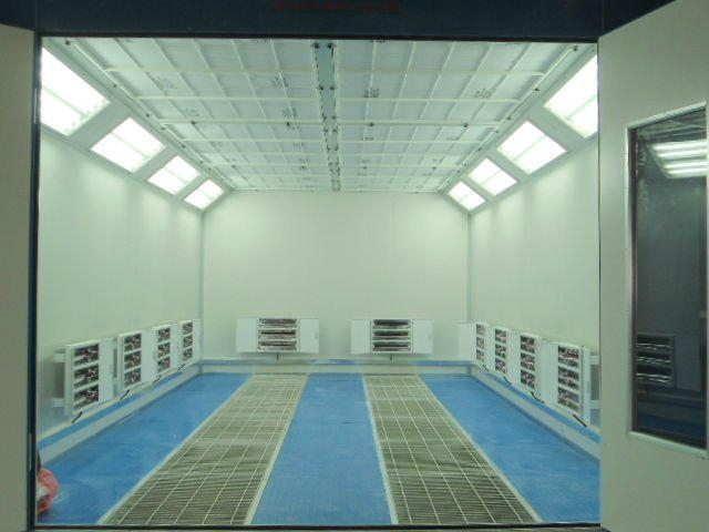 Paint Spray Booth (infrared lamp heating) 1
