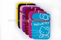 Tablet Neoprene Sleeve ( Hello Kitty)