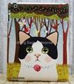 Smart Cover for Ipad---Chou Chou Cat