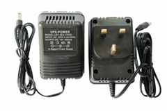 12V 500mA 6W UPS backup power supply EU plug-in
