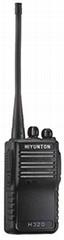 H320 VHF/UHF portable two way radio walkie talkies