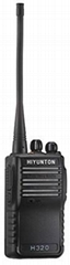 H320 VHF/UHF portable two way radio