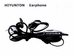 Two war radio accessories earphone, headset,piece