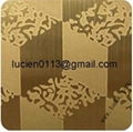 colored decorative stainless steel sheet