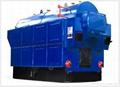 1噸鏈條燃煤蒸汽鍋爐