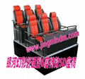 5D motion theater supplier 6DOF 6seats hydraulic seats platform home theater sys 1
