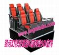 5D motion theater supplier 6DOF 6seats