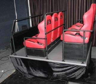 5D motion theater supplier 6DOF 6seats hydraulic seats platform home theater sys 2