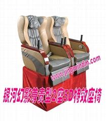 JMDM-PN2S3D 3DOF 2 seats home theater motion chair pneumatic platform
